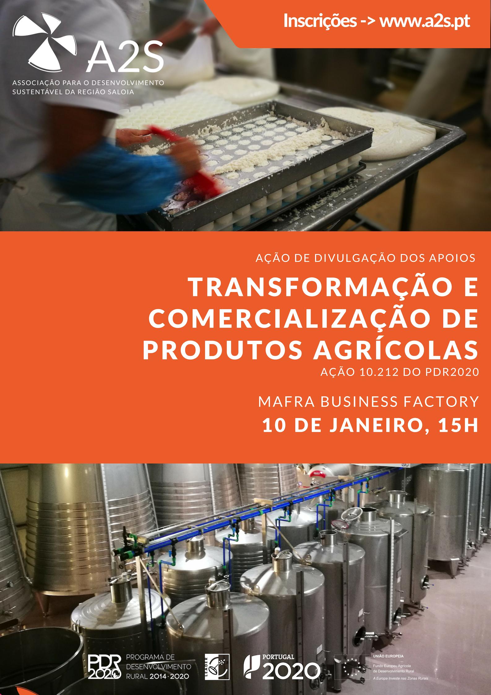 Ação De Esclarecimentos Sobre Apoios à Transformação E Comercialização De Produtos Agrícolas