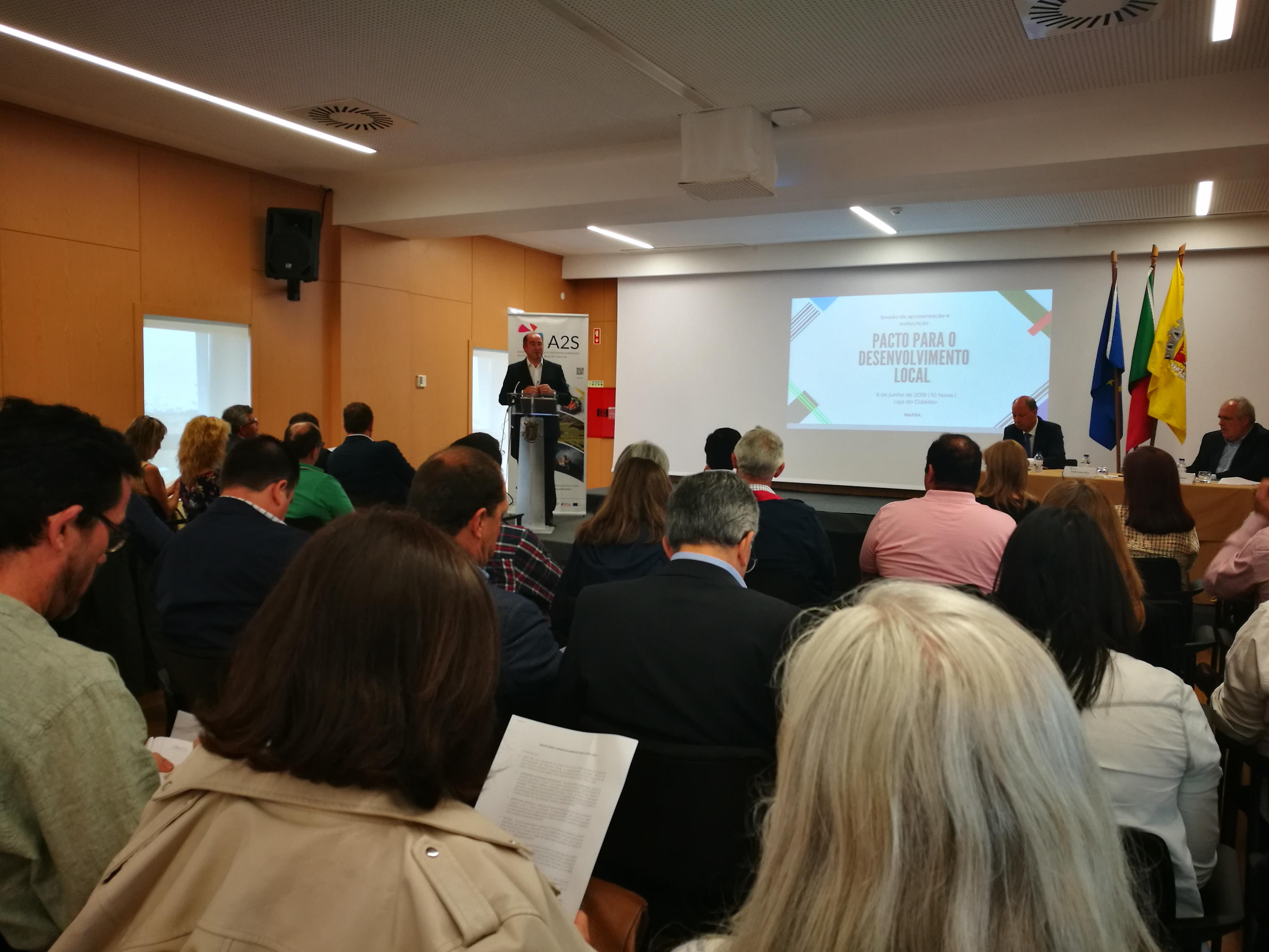 Região Saloia Inicia A Subscrição Do Pacto Desenvolvimento Local 2030